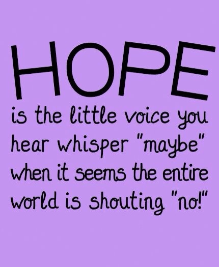 HOPE a little voice