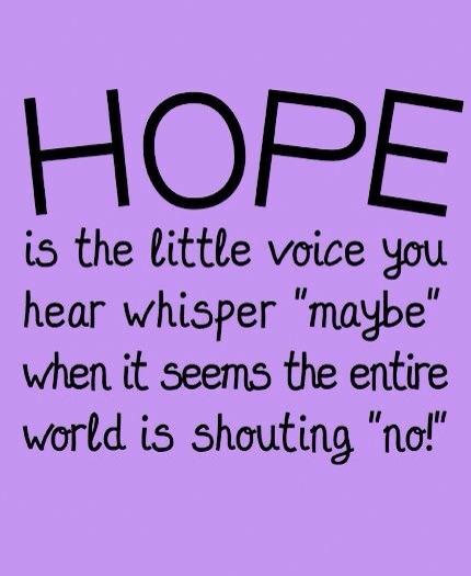 HOPE a little voice