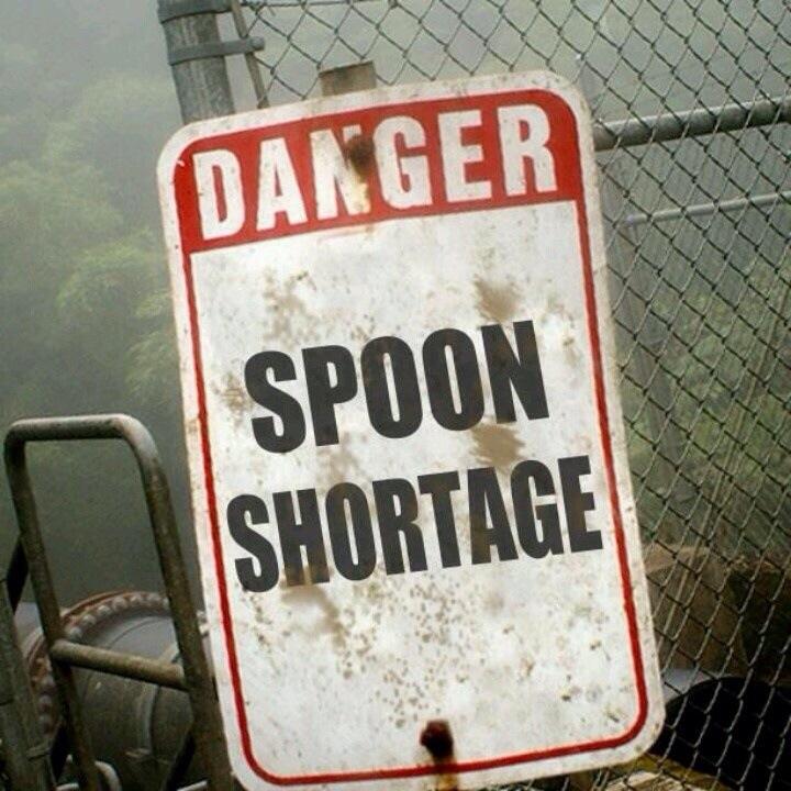 spoon shortage