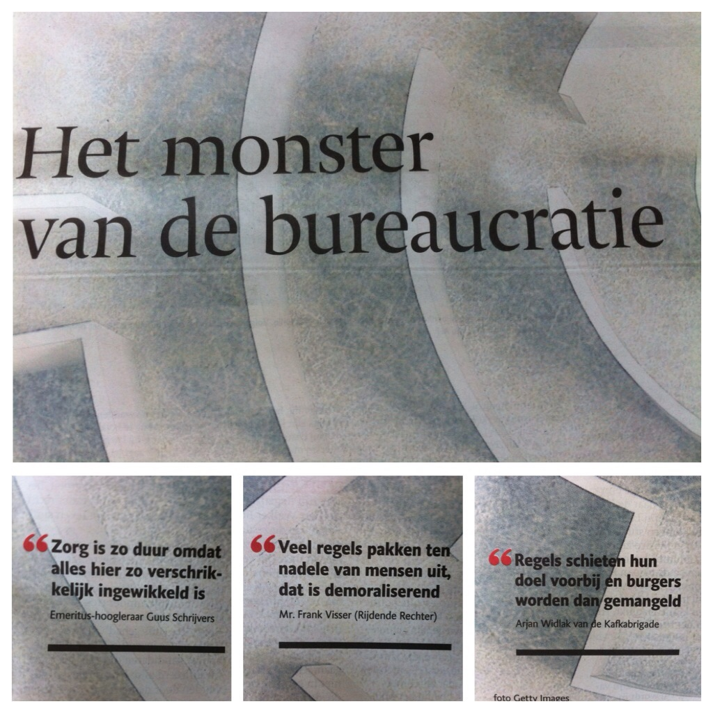 monster van de bureaucratie