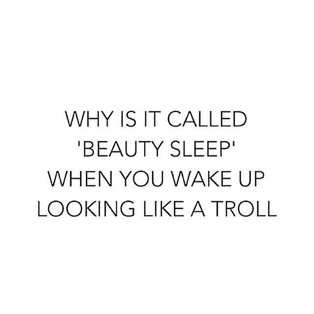 quote 'beauty sleep'