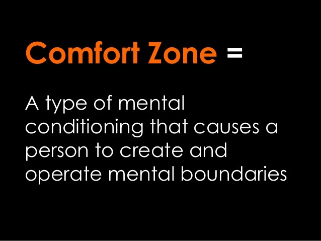 uitleg comfort zone