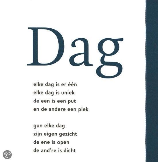 tekst DAG Toon Hermans
