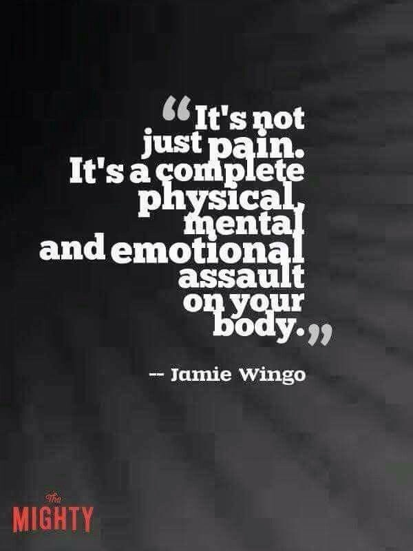 quote not just pain