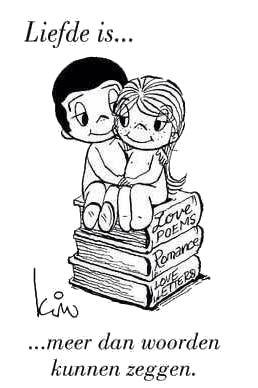 Liefde is ... meer dan woorden kunnen zeggen