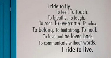 i ride to live