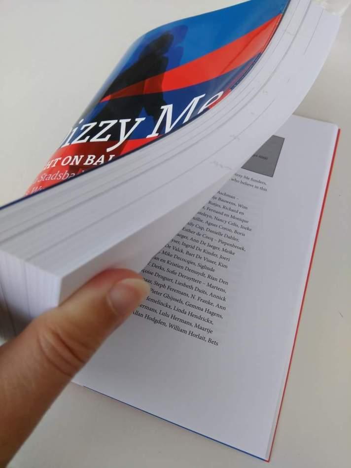 Het boek Dizzy Me. Light on balance
